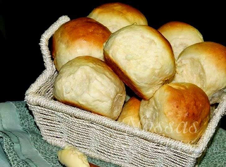 Receita de pão fofinho couvert amanteigado