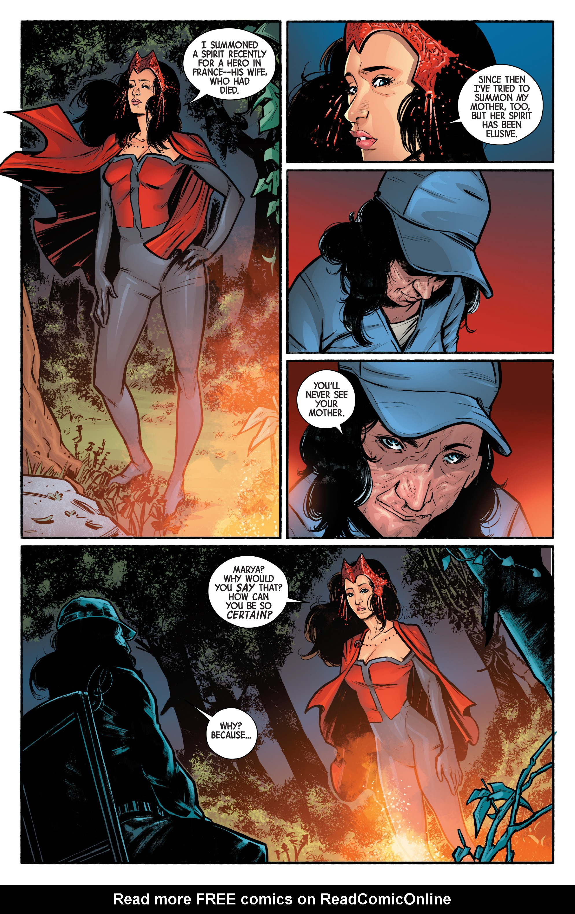 Read online Scarlet Witch (2016) comic -  Issue #12 - 11