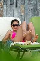Katie Holmes Pink Bikini The 2014 New Year's Eve Miami
