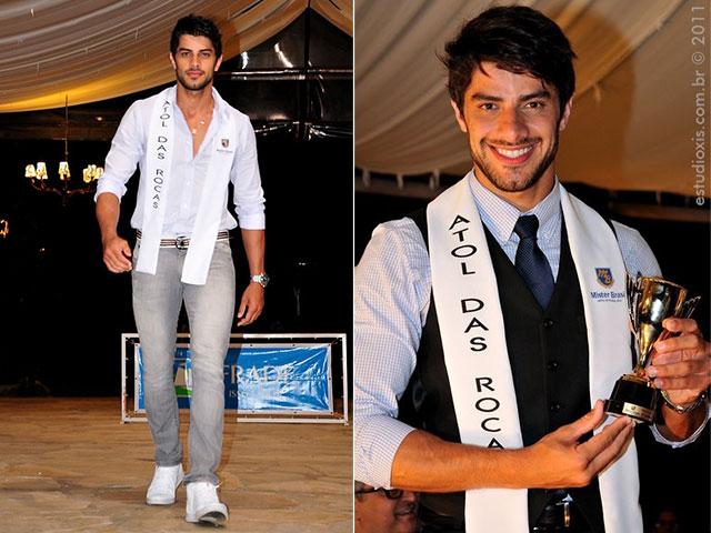 Renan Almeida levou prêmio de Mister Fotogenia do Mister Brasil 2011. Foto: Estúdio Xis