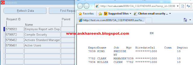 Report Registration with Parameters in Oracle Apps, askhareesh blog for Oracle Apps