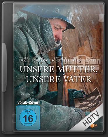 Unsere Mütter, Unsere Väter Miniserie (HDTV Aleman Subtitulada) (2013)