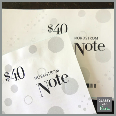 First let's start with Nordstrom Notes.