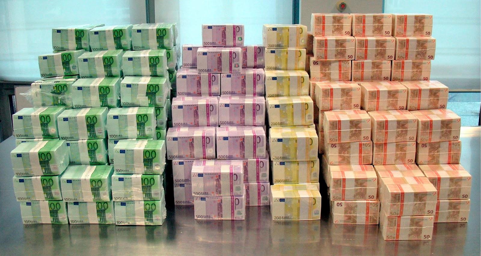 Money, Dinheiro, Euro, Undecilhão, Undecilhões