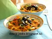 Mrkvový šalát - recept