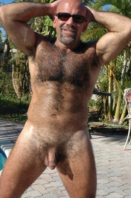Furry Men Outdoors