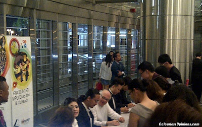 Distant Worlds Final Fantasy Malaysia MPO KLCC Arnie Roth Conductor Autograph session
