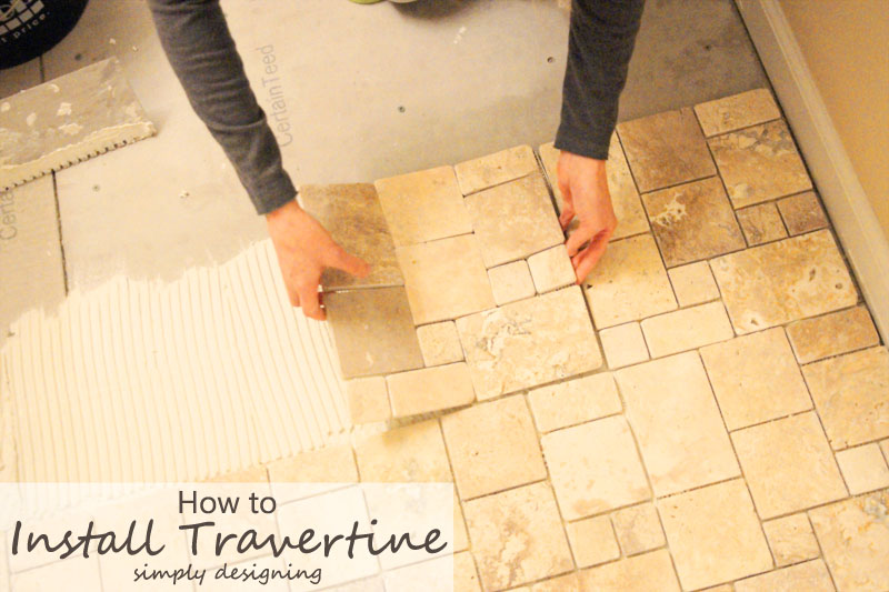 How to tile floors