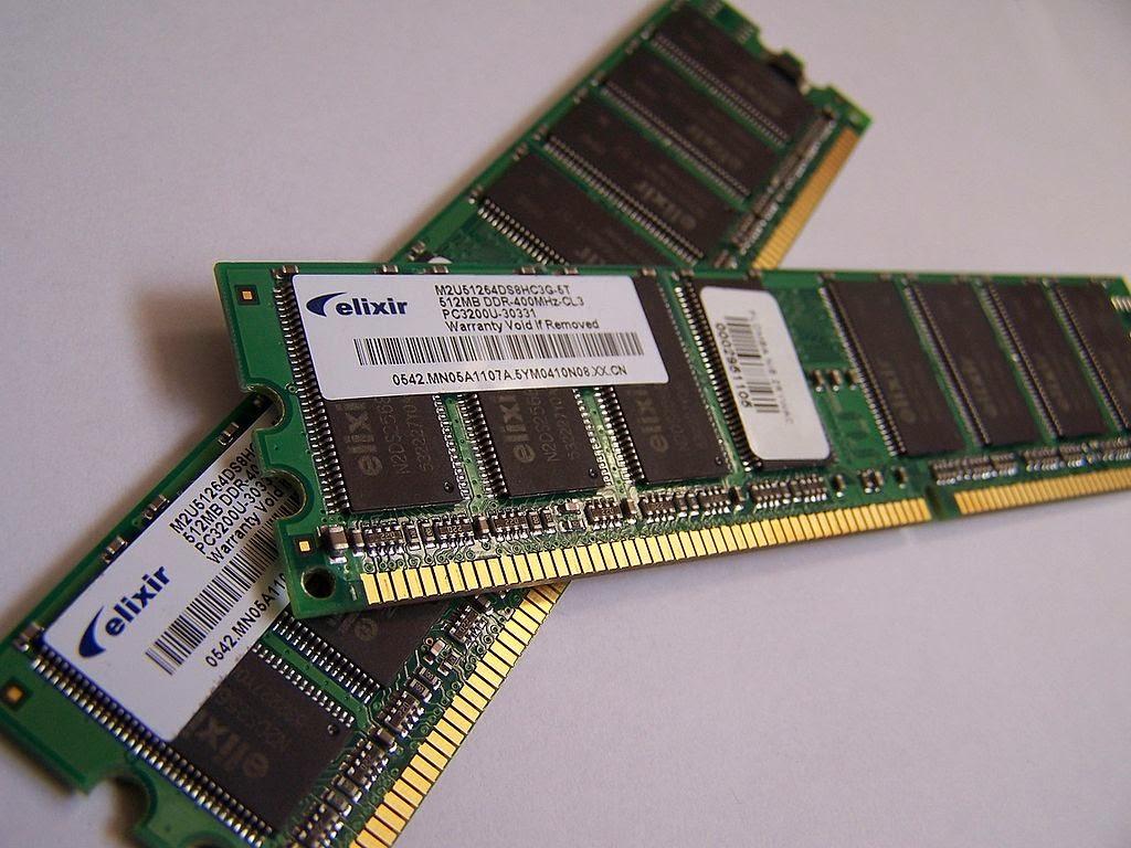 Kapasitas Memory RAM Komputer