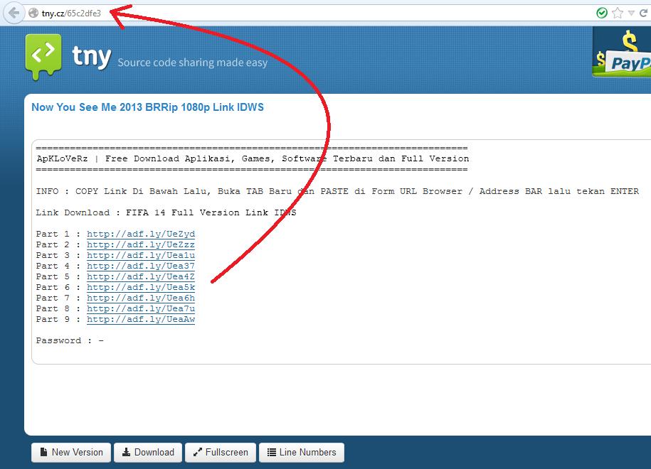 Cara Mendownload File dari Situs tny.cz 2