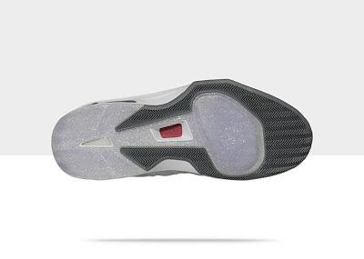 Matte Silver/Dark Grey-White-Gym Red, Style - Color # 551879-033