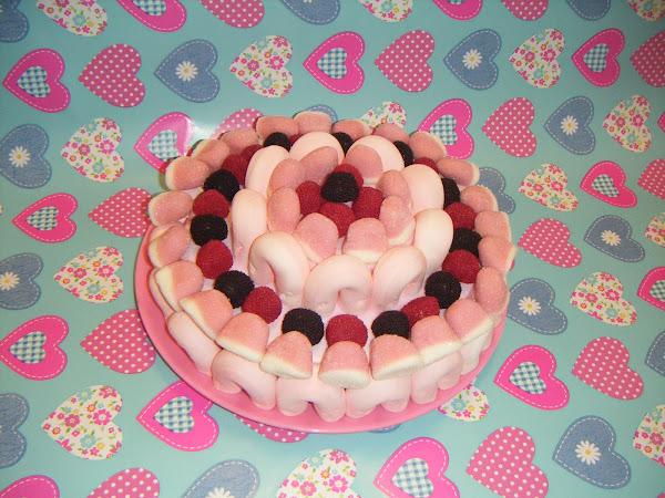 tarta de gominola | Cocinar en casa es facilisimo.com
