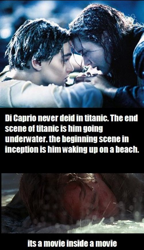 It's A Movie Inside A Movie - Titanic Inception