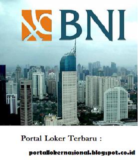 Lowongan Kerja PT. BANK BNI