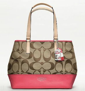 Ready Stock Coach 19354 Khaki Coral