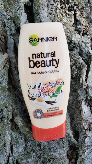Garnier Natural Beauty | Balsam - Odżywka do włosów | Vanille Milch und Papayamark
