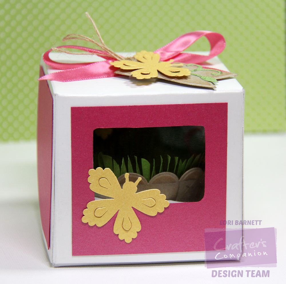 Stamp Scents: Window Cupcake Box