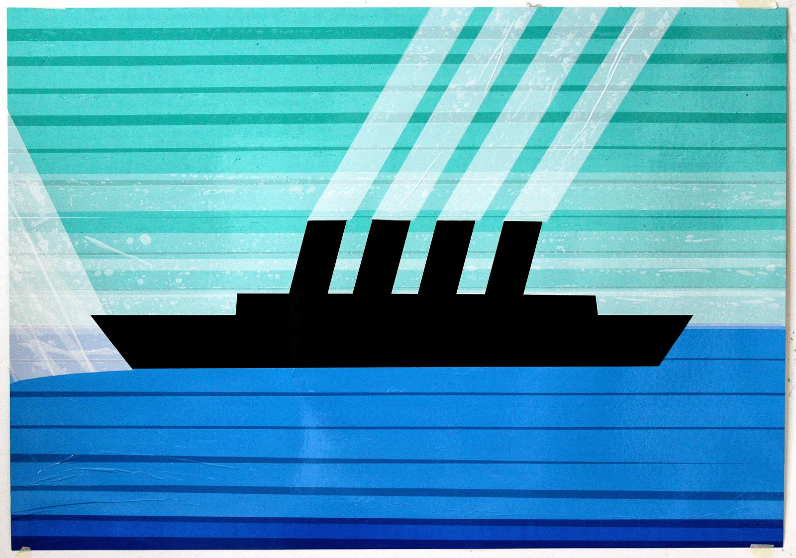 tapeart boat