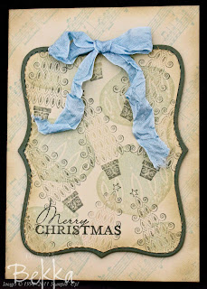 Lovely Muted Contempo Christmas Cards by Bekka www.feeling-crafty.co.uk