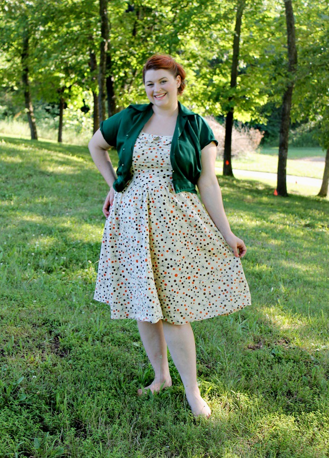 plus size vintage style summer dress from Tatyana Boutique