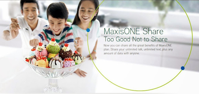 MaxisOne Share