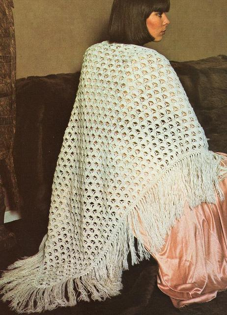 free knitting pattern: new rectangular knitting shawl patterns