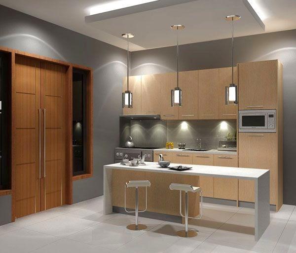Desain Ruang Makan Minimalis Dengan dekorasi Kayu