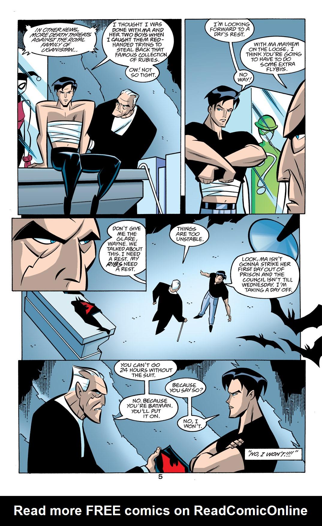 Batman Beyond [II] Issue #19 #19 - English 6