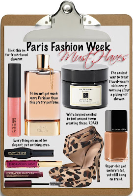 Indian Fashion Trends: Vogue Spring Fashion: Must Haves: Cosmetics From Paris Fashion Week