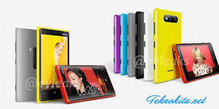Desain Nokia Lumia 920 dan Lumia 820