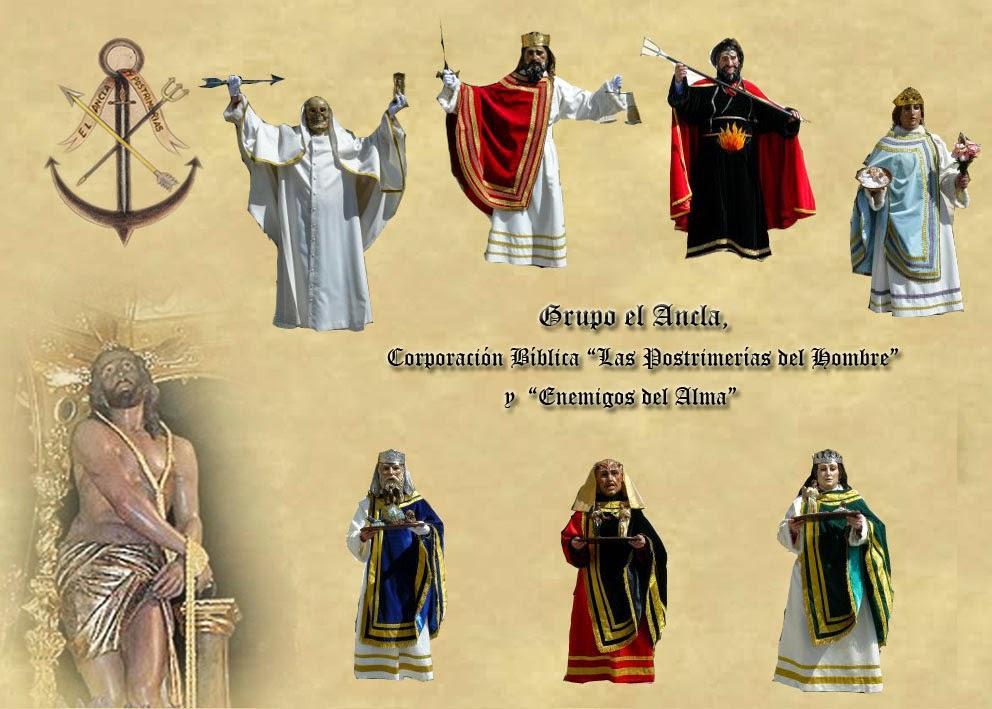 """Grupo """"El Ancla"""", Corporación Bíblica """"Las Postrimerías del hombre y Enemigos del Alma"""""""