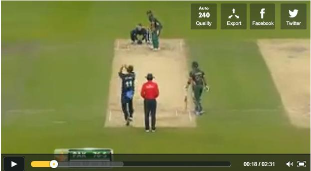 Shahid Arfridi 28 in 11 balls watch