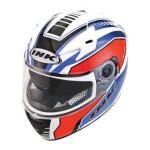 Helm INK CBR 600 Seri 3 Putih Merah Biru