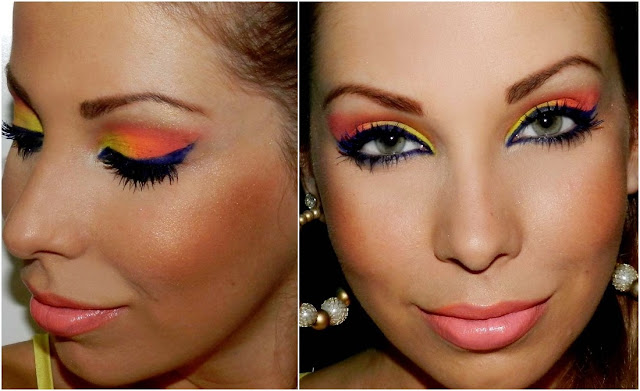 tutorial de maquiagem Luciane Ferraes
