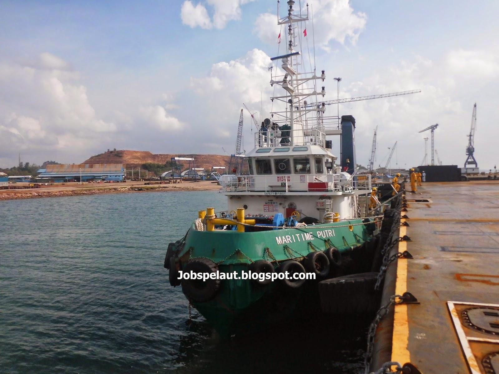 Lowongan Kerja Kapal Tugboat