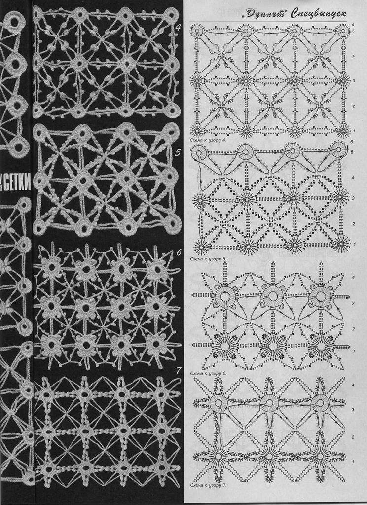 Сетки имитирующий полотно