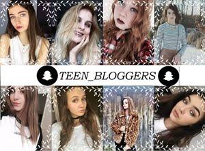 Snapchat : teen_bloggers