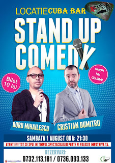 Stand-Up Comedy Constanta Sambata 1 August