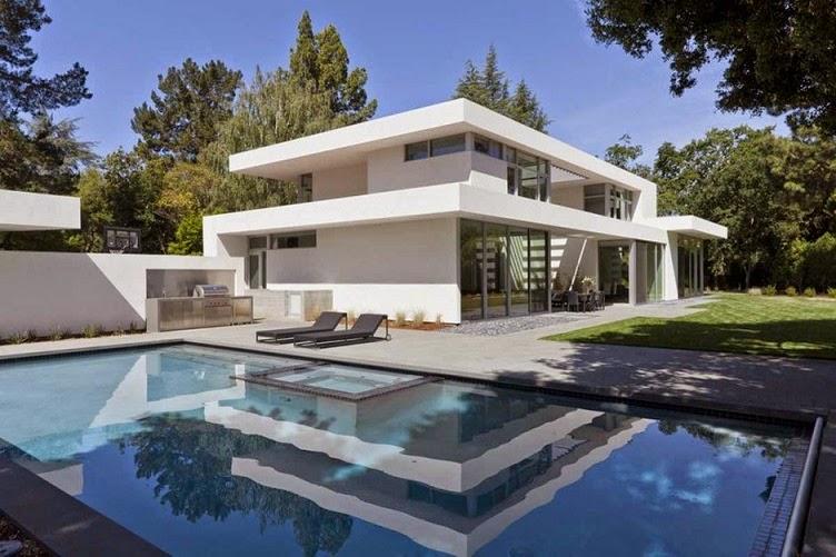 Casa ara dise o minimalista by swatt miers architects for Casa minimalista con piscina