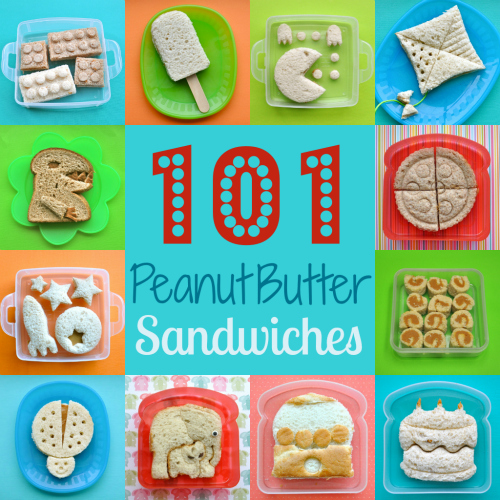 101+  Peanut Butter Sandwiches by Bent On Better Lunches