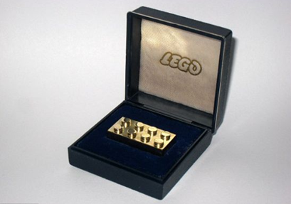 worlds most expensive lego brick block solid gold
