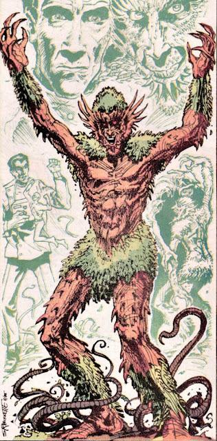 Dibujo del Hombre Florónico-DC