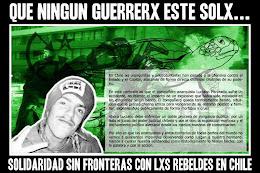 Solidaridad con el compañero Tortuga: