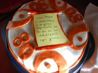 torta per gli 80 anni del mio papà