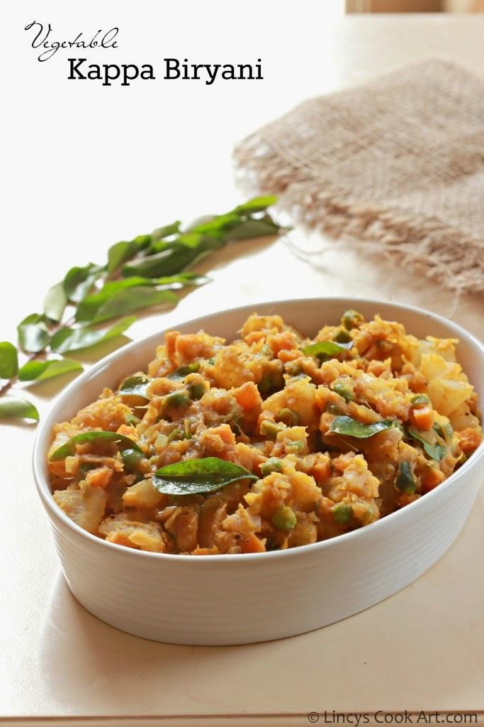 Vegetable Kappa Biryani