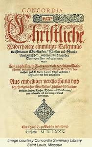 BOOK OF CONCORD (1580)