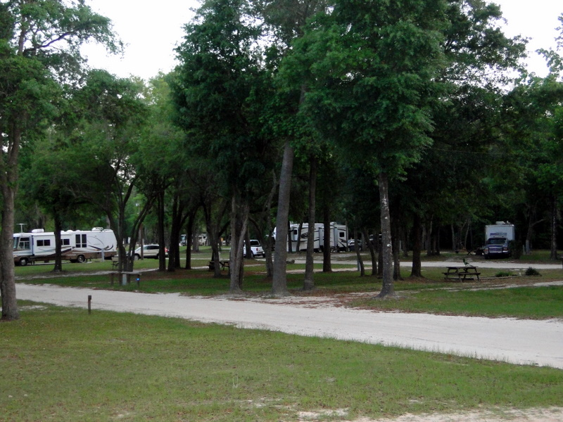 Florida state parks with full hook up