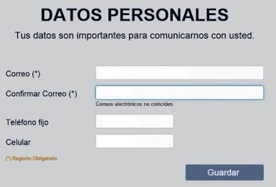 Busca tu centro de votacion Ingresa tus datos personales