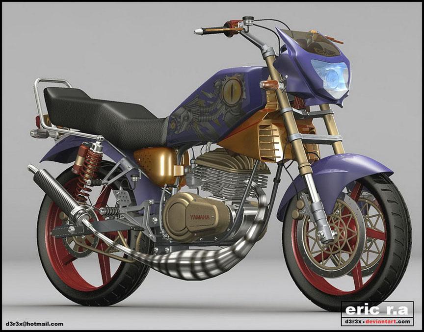 Foto Modifikasi Motor Matic Yamaha