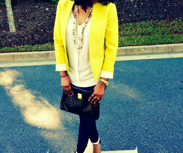 LOFT, Forever 21, Old Navy, What I Wore Today, Brains of the Outfit, Michael Kors, Stella and Dot